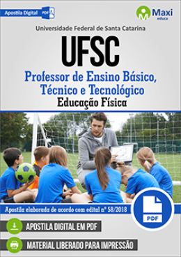 Professor de Ensino Básico, Técnico e Tecnológico Educação Física