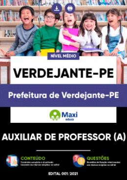 Auxiliar de Professor (a)