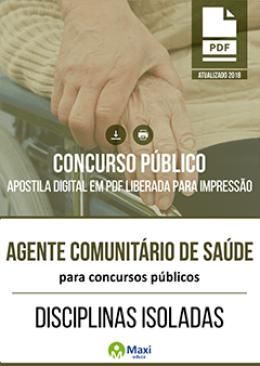 Agente Comunitário de Saúde para Concursos Públicos