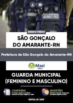 Apostila Digital em PDF da Prefeitura de São Gonçalo do Amarante-RN