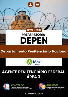 Apostila Preparatória Digital em PDF do Departamento Penitenciário Nacional - DEPEN