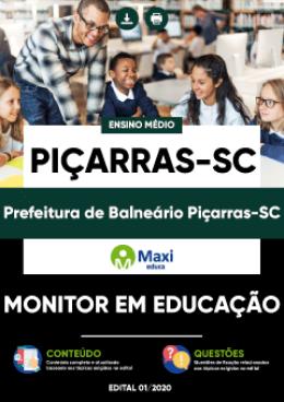 Monitor em Educação