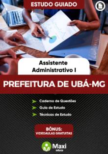 Concurso da Prefeitura de Ubá-MG
