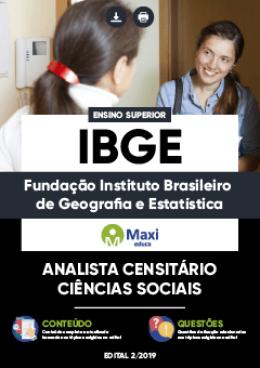 Analista Censitário - Ciências Sociais