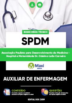 Apostila Digital em PDF da Associação Paulista para Desenvolvimento da Medicina - Hospital e Maternidade Dr. Odelmo Leão Carneiro - SPDM