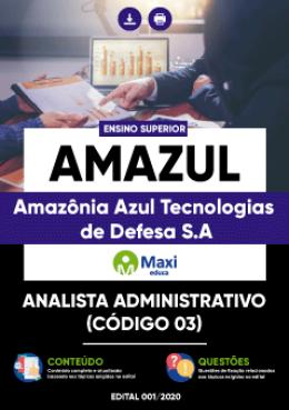 Analista Administrativo (Código 03)