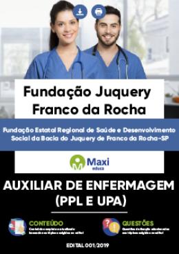 Auxiliar de Enfermagem (PPL e UPA)