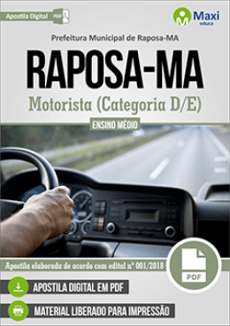 Motorista (Categoria D/E)