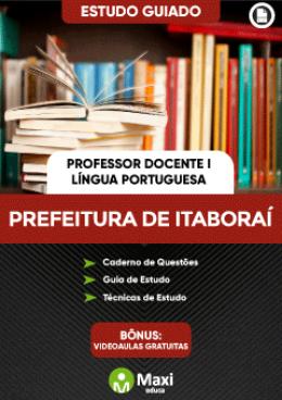 Estudo Guiado - Professor Docente I - Língua Portuguesa