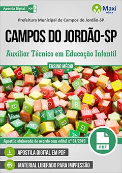 Apostila Digital em PDF da Prefeitura de Campos do Jordão-SP