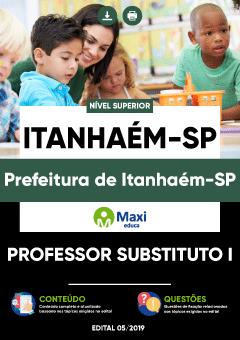 Apostila Digital em PDF da Prefeitura de Itanhaém-SP