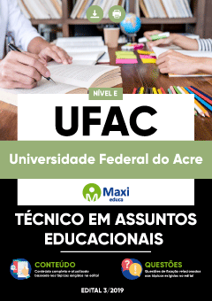 Apostila Digital em PDF da Universidade Federal do Acre - UFAC