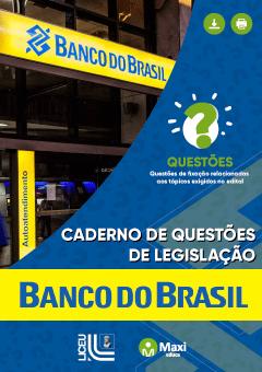 Caderno de Questões de Legislação - Banco do Brasil