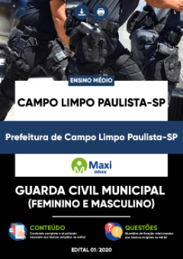 Guarda Civil Municipal (Feminino e Masculino)