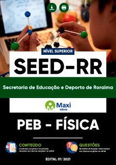 Apostila Digital em PDF da Secretaria de Educação e Deporto de Roraima - SEED-RR