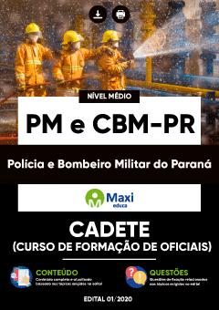 Apostila Digital em PDF da Polícia e Bombeiro Militar do Paraná - PM e CBM-PR