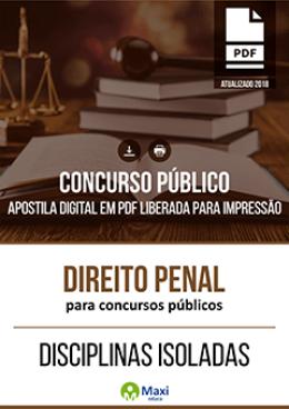 Direito Penal para Concursos Públicos