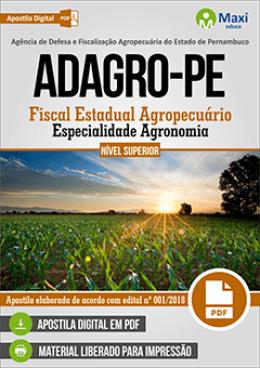 Fiscal Estadual Agropecuário - Especialidade Agronomia