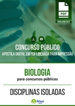 Biologia para Concursos Públicos