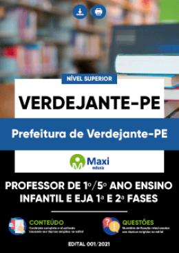 Professor de 1º/5º ano Ensino Infantil e EJA 1ª e 2ª Fases