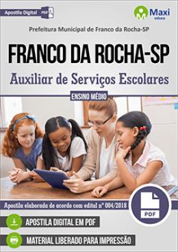 Auxiliar de Serviços Escolares