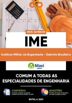 Apostila Digital em PDF do Instituto Militar de Engenharia - Exército Brasileiro - IME