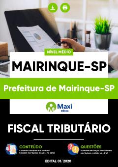Apostila Digital em PDF da Prefeitura de Mairinque-SP