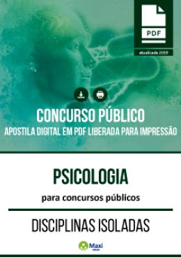 Psicólogo para Concursos Públicos