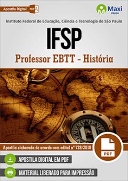 Professor EBTT - História