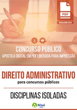 Direito Administrativo para Concursos Públicos