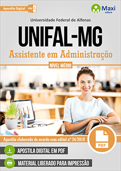 Apostila Digital em PDF da Universidade Federal de Alfenas - UNIFAL-MG