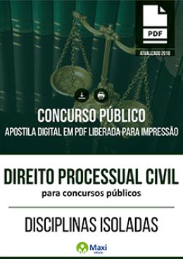 Direito Processual Civil para Concursos Públicos