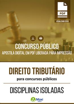 Direito Tributário para Concursos Públicos