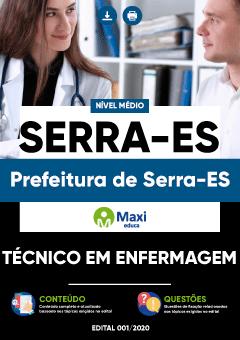 Apostila Digital em PDF da Prefeitura de Serra-ES