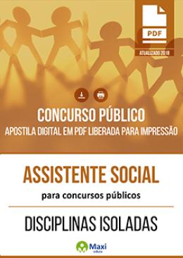 Assistente Social para Concursos Públicos