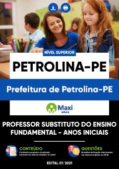 Apostila Digital em PDF da Prefeitura de Petrolina - PE