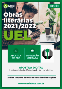 Apostila Digital em PDF das Obras Literárias do Vestibular - UEL