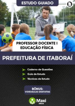Estudo Guiado - Professor Docente I - Educação Física