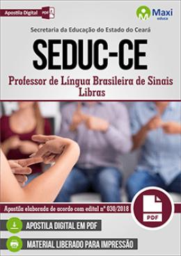 Professor de Língua Brasileira de Sinais - Libras