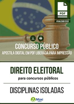 Direito Eleitoral para Concursos Públicos