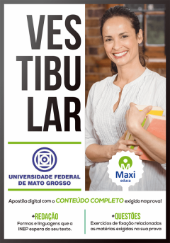 Apostila Digital Preparatória para Vestibular - UFMT