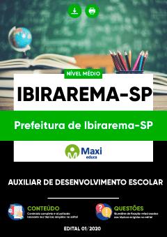 Apostila Digital em PDF da Prefeitura de Ibirarema-SP