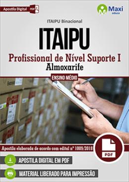 Profissional de Nível Suporte I - Almoxarife