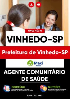 Apostila Digital em PDF da Prefeitura de Vinhedo-SP