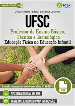 Professor de Ensino Básico, Técnico e Tecnológico Educação Física na Educação Infantil