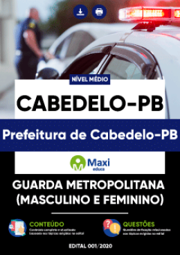 Guarda Metropolitana (Masculino e Feminino)