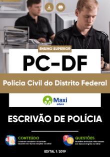 Apostila Digital em PDF da Polícia Civil do Distrito Federal - PC-DF