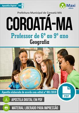 Professor de 6º ao 9º ano - Geografia