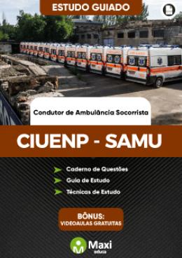 Estudo Guiado - Condutor de Ambulância Socorrista