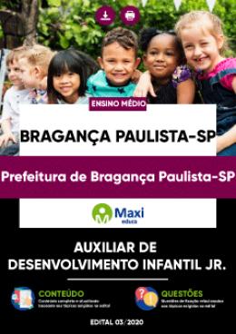 Auxiliar de Desenvolvimento Infantil Jr.